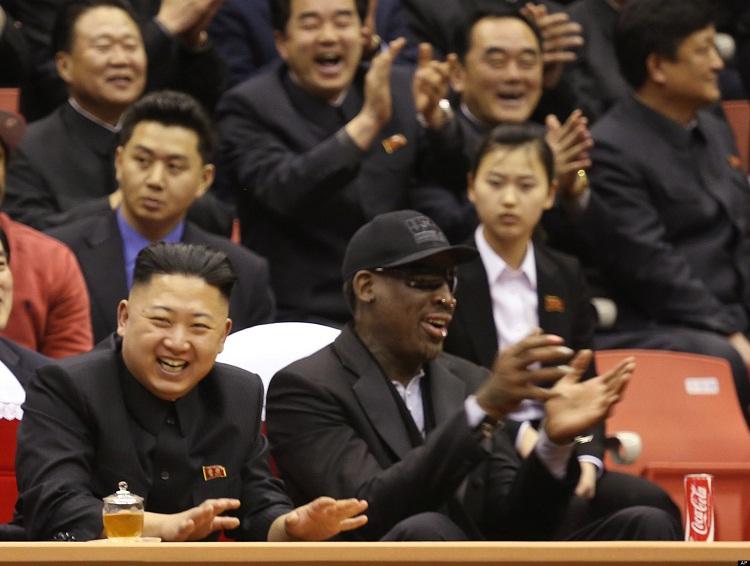 Dennis Rodman & Kim Jong Un-Unlikely Celebrity Friends