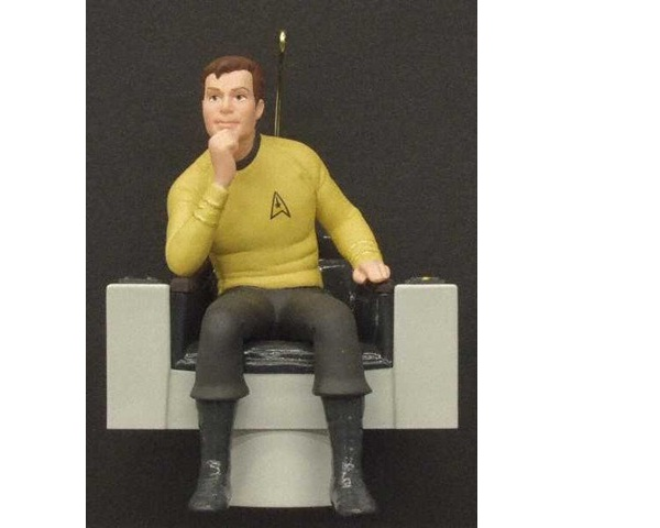 Captain Kirk-Geeky Christmas Decorations