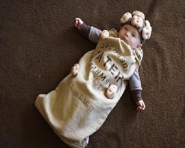 Potato Sack Creative Baby Halloween Costumes