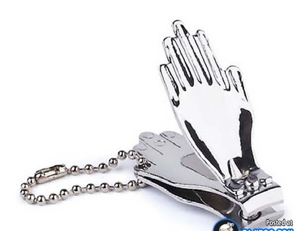 Clapping Silver Hands-Coolest Nail Clippers