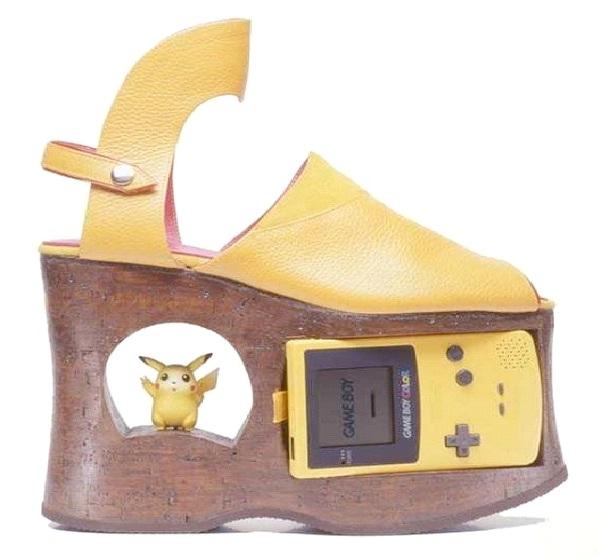 Game Boy Shoe-Weirdest Shoes