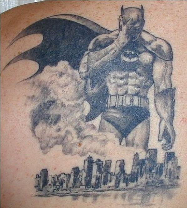 Batman Despair-Batman 3D Tattoos