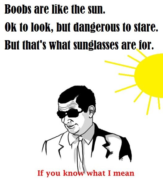 "Be Thankful For Sunglasses-12 Best ""If You Know What I Mean"" Memes Ever"