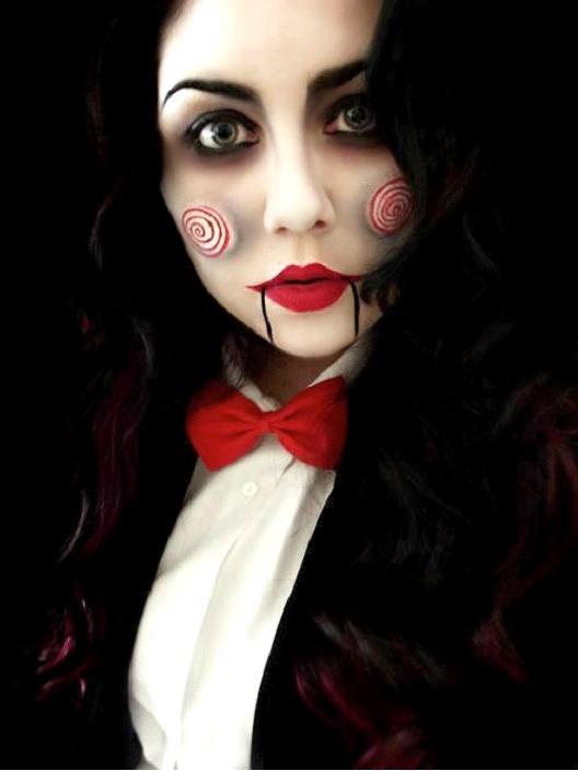 Jigsaw-Amazing Wooden Doll Makeup