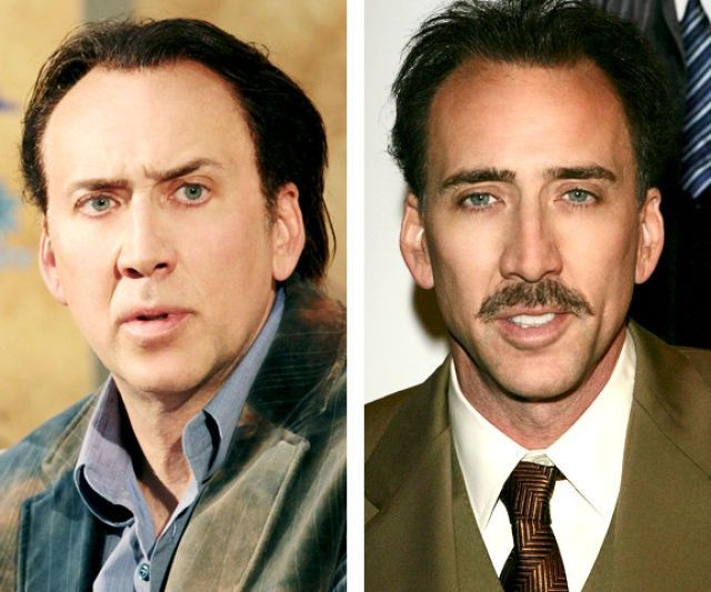 Nick Cage-12 Images That Show A Beard Makes You Look Different