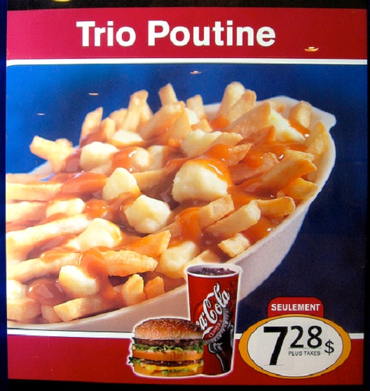 Poutine - Found In Canada-McDonald's Items Not Available In The U.S.
