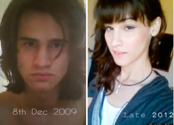 Gifted-Male To Female Transformations