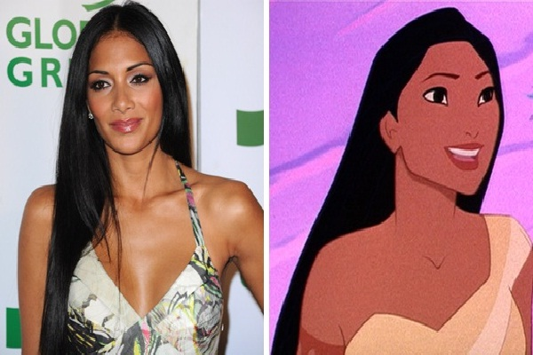 Nicole Scherzinger-Disney Look A Like Celebrities