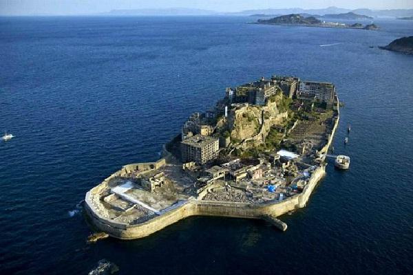 Hashima Island - Japan-Amazing Abandoned Mega Structures