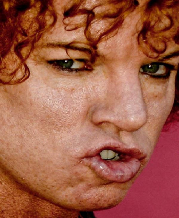 Carrot Top-Weird Celebrity Closeups