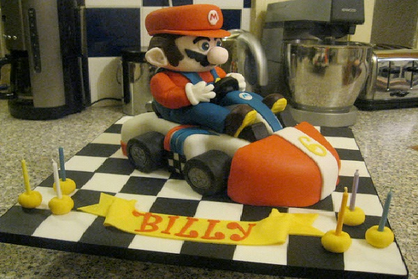 Mario Kart-Most Geeky Cakes