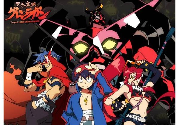 Gurren Lagann-Popular Anime Series