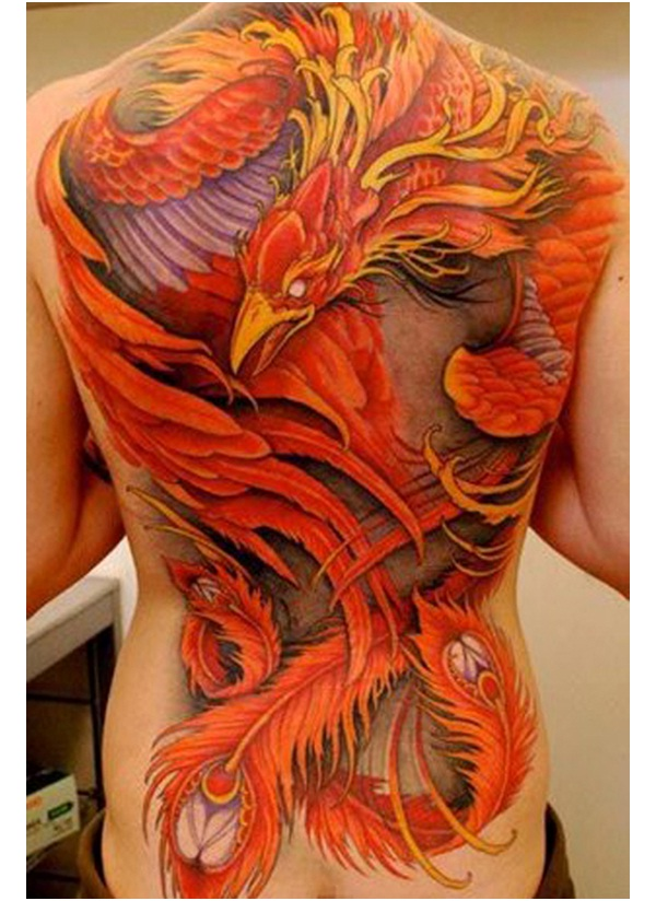 A Full House-Amazing Looking Phoenix Tattoos