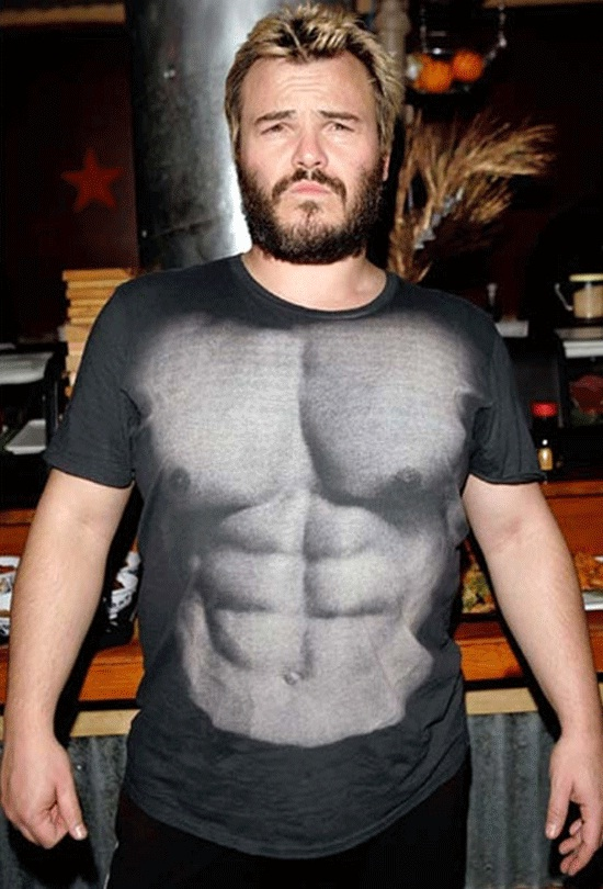 Jack Black Wishes This Was True-Most Insane Tshirts Ever