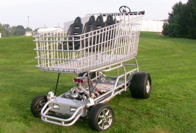 Yes I drift shopping trolleys-Bizarre Facebook Groups And Pages