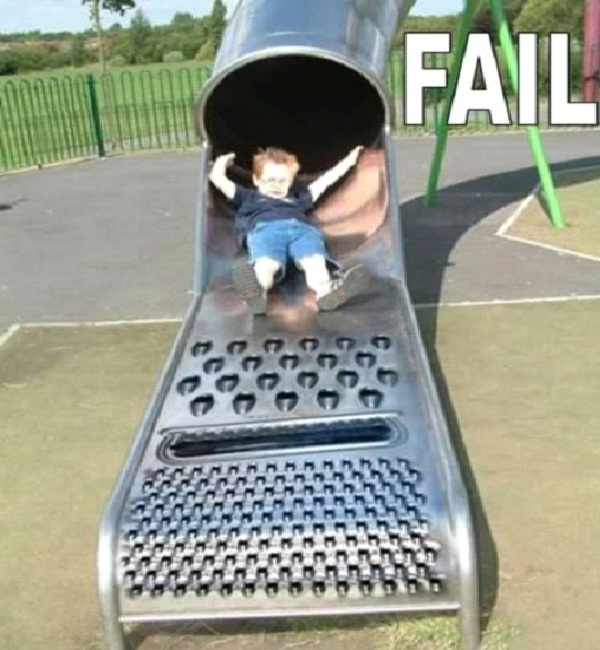 Grated Child-Most Inappropriate Playgrounds
