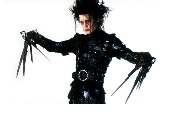 Edward Scissorhands-Bizarre And Insanely Expensive Auctions