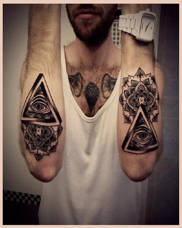 Eye tattoos-15 Cool Tattoos For Men That Make You Say WOW!