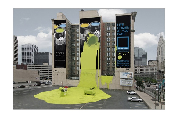 Interactive-Brilliantly Clever Billboard Ads