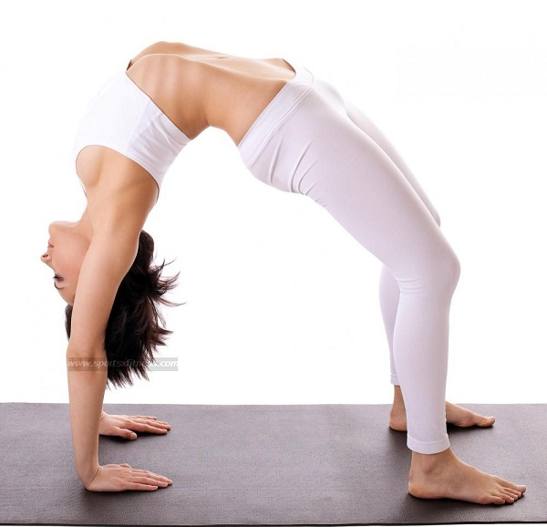 The Bridge-Simple Yoga Positions For Everyone