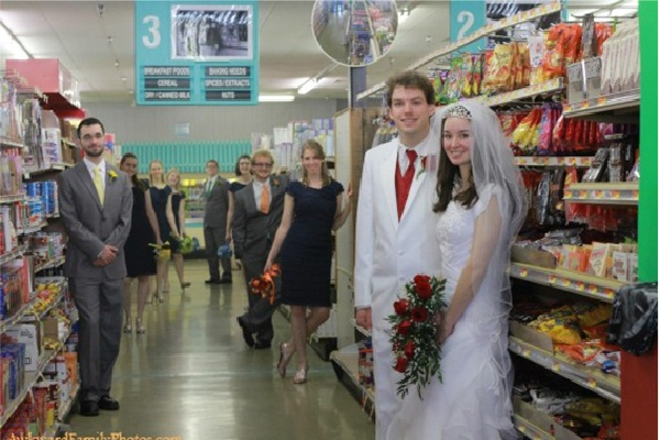 Grocery Art-Awkward Couple Photos