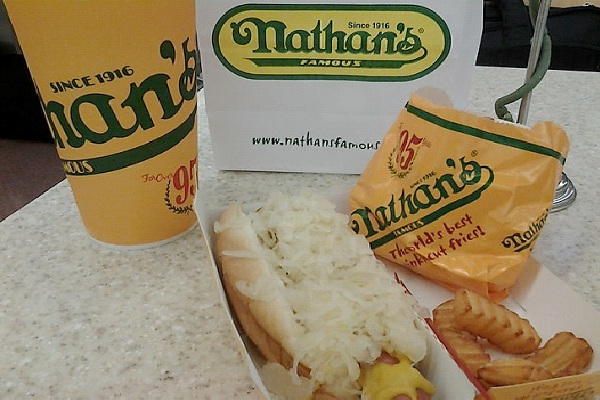 Nathan's Famous-Top Fast Food Restaurants In The World