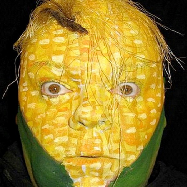 Corny-Most Incredible Face Paintings