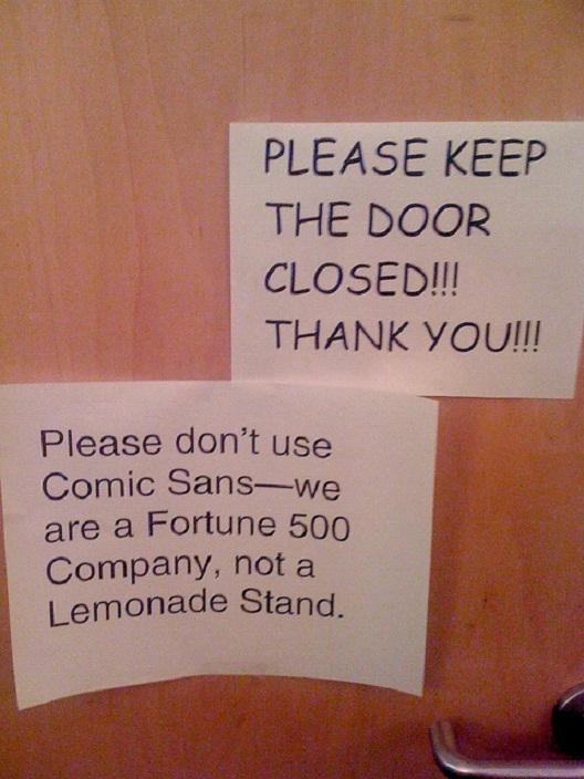 Comic Sans Fail-12 Smart And Witty Replies To Written Notes
