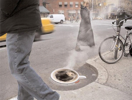 Folgers Coffee-Most Creative Street Ads