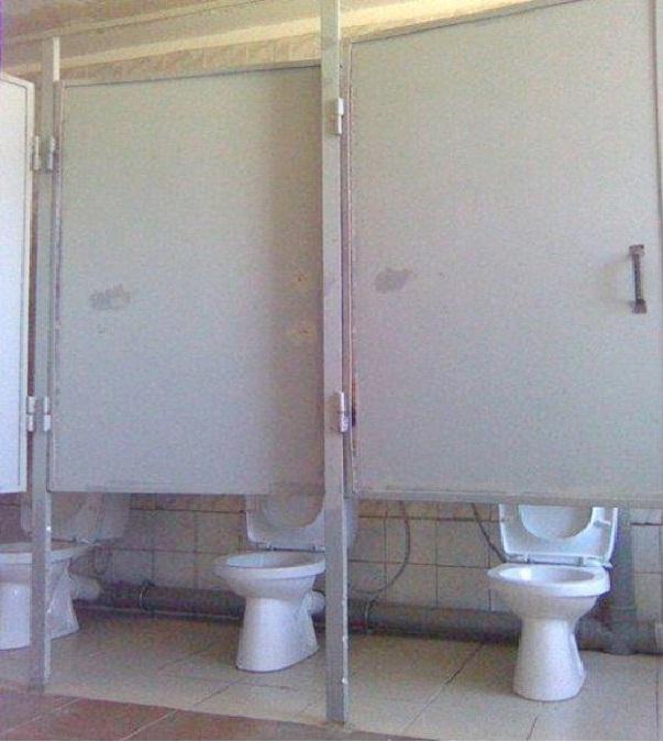 Peek-A-Boo Toilets-Worst Construction Fails