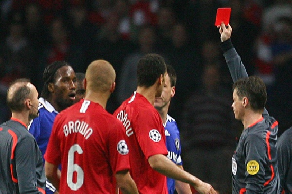 Send the ref off!!-Weird Facts About Football