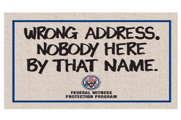 Wrong Door Doormat-12 Creative And Funny Doormats Ever