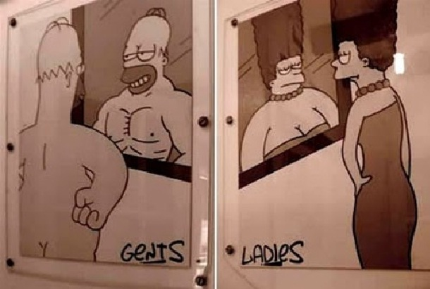 Cool-Creative And Funny Toilet Signs