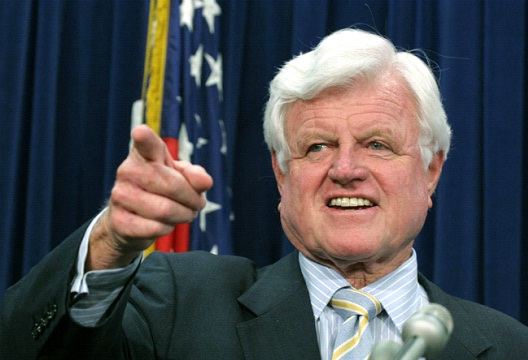 Ted Kennedy-12 Celebrities Who Have Committed Murder