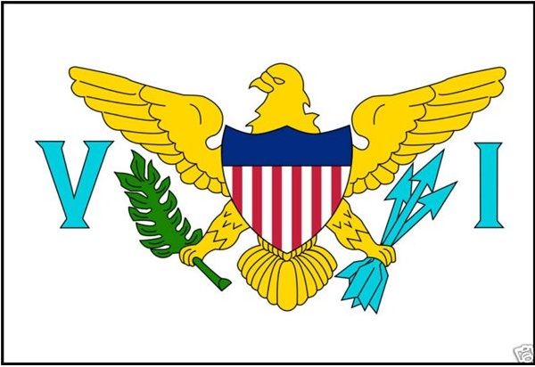 U.S Virgin Islands-World's Strangest Flags