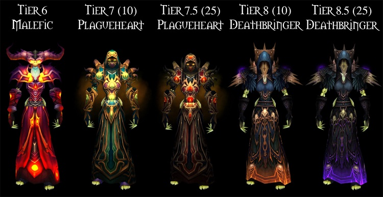 World of Warcraft - Warlock outfits-Coolest Suits Of Armor
