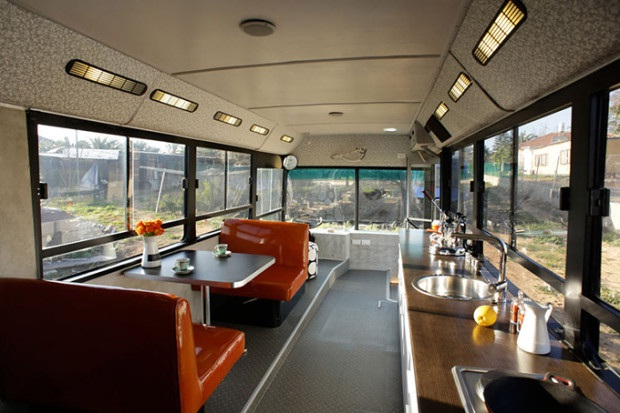 Public Transport Revisited-Coolest Homes Made From Vehicles