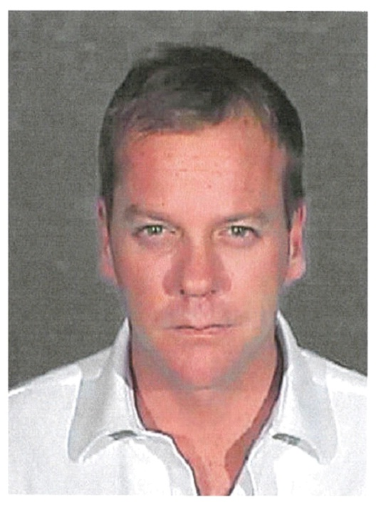 Keifer Sutherland-Top Celebrity Mug Shots