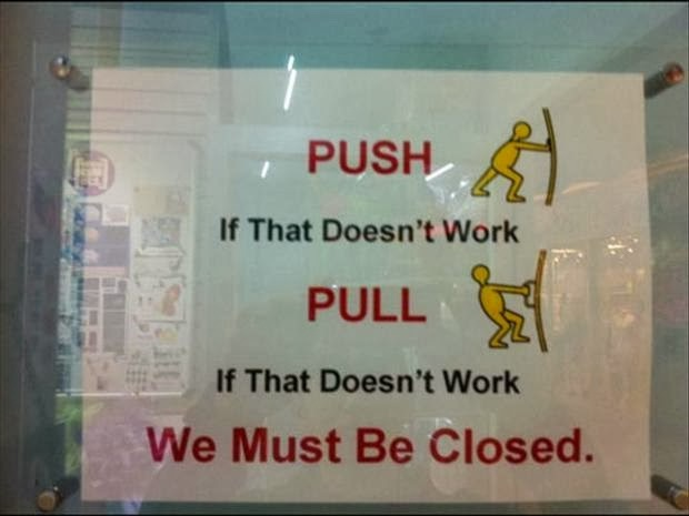 Ugh!-12 Hilarious Closed Signs That Will Make You Lol