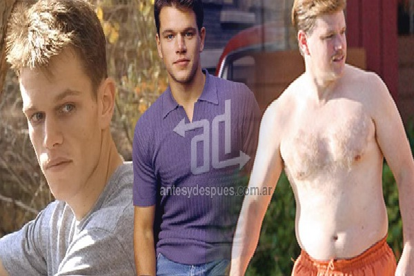 Matt Damon-Shocking Celeb Movie Transformations