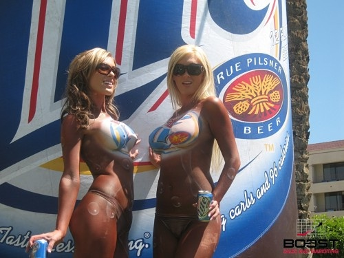 "Lite beer..leaves nothing to the imagination-Best ""Girls With Beer"" Photos"