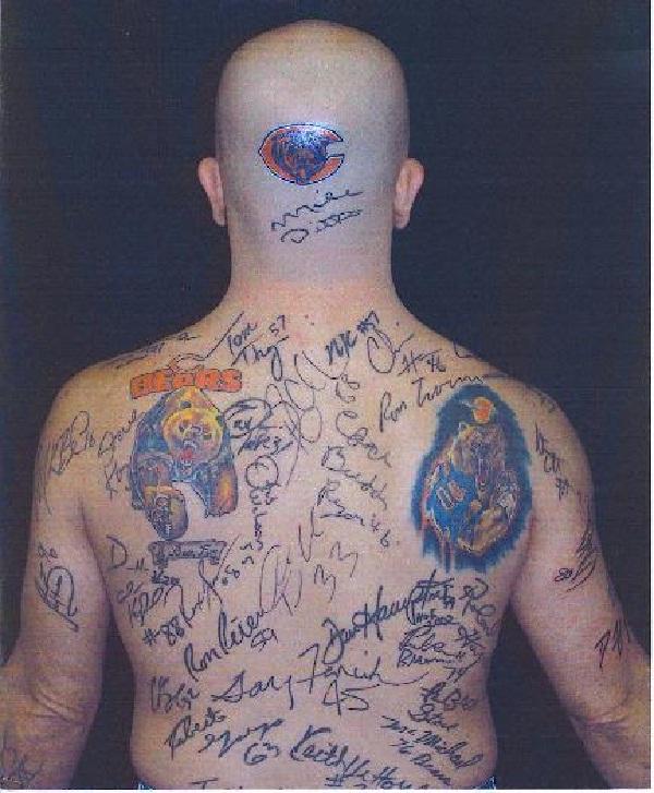 Autographs-Worst Back Tattoos