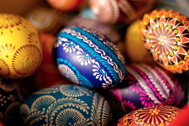 Bright And Cheerful-Coolest Easter Eggs