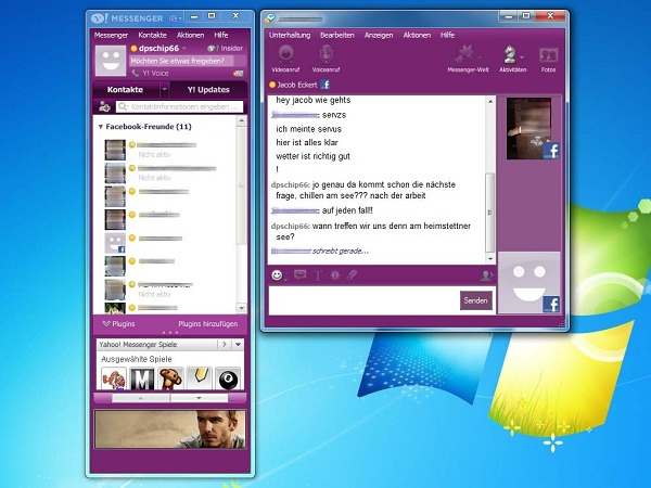 Yahoo Messenger-Best Text Chat Sites