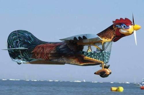 A Flying Rooster-Most Bizarre Designed Aircrafts