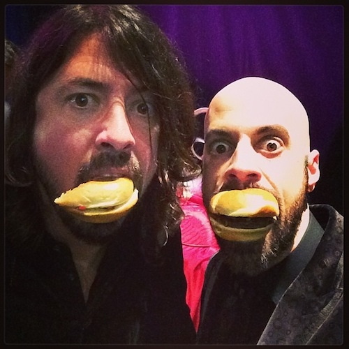 Another Dave Grohl-Rock Star Selfies