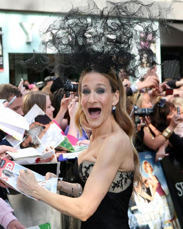 Sarah Jessica Parker-Celebs Without Teeth