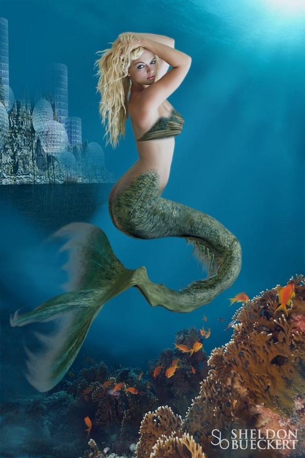 Mermaid-Mythical Creatures
