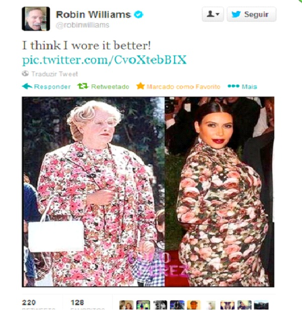 Robin Williams-Funny Celeb Tweets