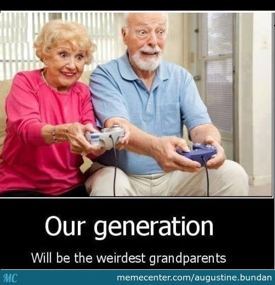 It Will Be Fun When Older-Photos Showing People Of My Generation